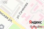 Схема проезда до компании Комфорт в Харцызске