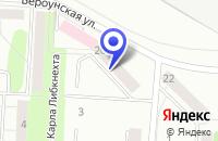 Схема проезда до компании ТЕРАПЕВТИЧЕСКОЕ ОТДЕЛЕНИЕ № 2 в Сергиевом Посаде