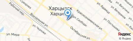 Эдельвейс продовольственный магазин на карте Харцызска