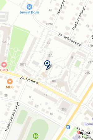 УНИВЕРСАМ ИВАНОВА А.М. на карте Сергиева Посада