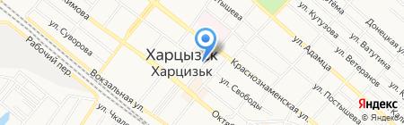 Samba на карте Харцызска
