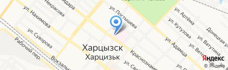 Био-Лайн на карте Харцызска