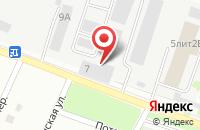 Схема проезда до компании Теплосеть в Сергиевом Посаде