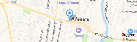 Ника на карте Абинска
