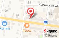 Схема проезда до компании Абинская компьютерная служба в Абинске