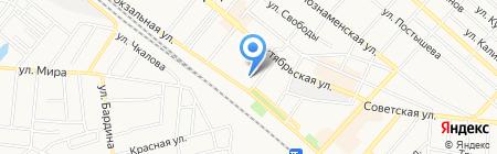 Центральная библиотека на карте Харцызска