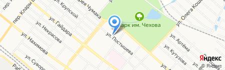 РАГС г. Харцызска на карте Харцызска