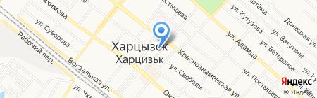 Сувенир магазин на карте Харцызска