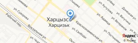 Алекс на карте Харцызска