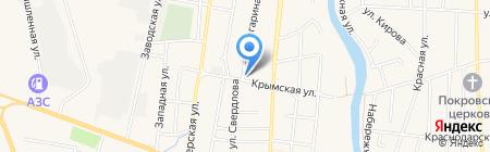 Ветеринарная клиника Немчиновых на карте Абинска