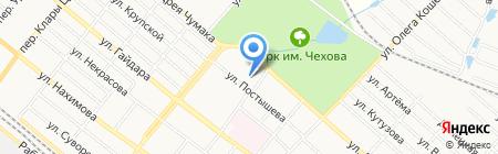 Донбасс-Либерти на карте Харцызска