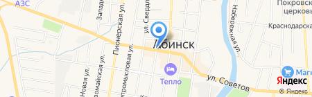 Сахалинец на карте Абинска