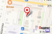 Схема проезда до компании Никс в Абинске