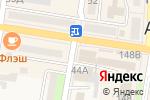 Схема проезда до компании 100% в Абинске
