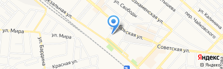 Оригинал на карте Харцызска