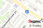 Схема проезда до компании Продукты для всех в Харцызске