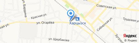 Исполнительный комитет Зуевского поселкового совета на карте Харцызска