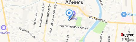 Общество инвалидов г. Абинска на карте Абинска