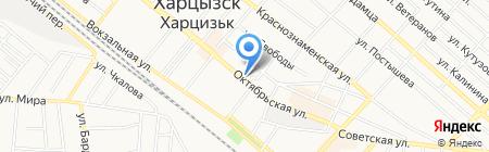 Банкомат УКРСИББАНК ПАО на карте Харцызска