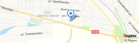 Храм Иверской иконы Божией Матери на карте Харцызска
