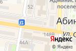 Схема проезда до компании Магазин джинсовой одежды в Абинске