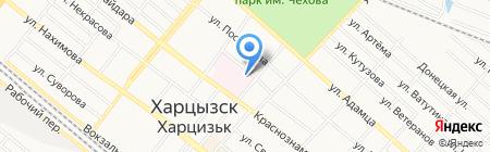 Амбулатория на карте Харцызска