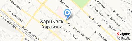 Обелиск на карте Харцызска