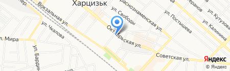 Outlet на карте Харцызска