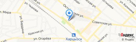 Колос продуктовый магазин на карте Харцызска