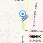 Киоск по продаже питьевой воды на карте Узловой