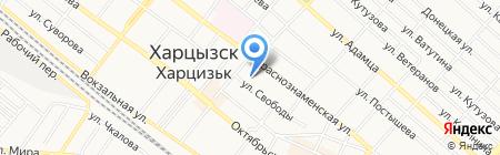 ГУ ГМС на карте Харцызска