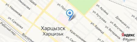 Станция скорой медицинской помощи на карте Харцызска