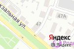 Схема проезда до компании Колос в Харцызске