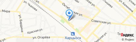 Березка кафе на карте Харцызска