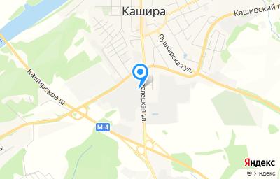 Местоположение на карте пункта техосмотра по адресу Московская обл, г Кашира, ул Стрелецкая, д 70
