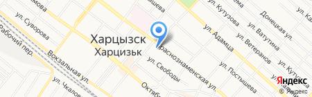 Стиль на карте Харцызска