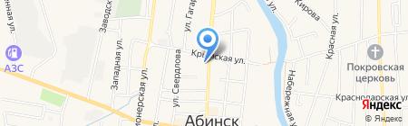 Фотомаг на карте Абинска