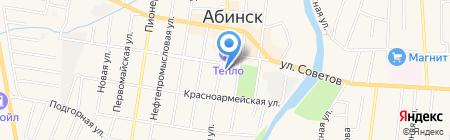 Нотариус Саенко Т.А. на карте Абинска