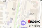 Схема проезда до компании Красный мак в Абинске
