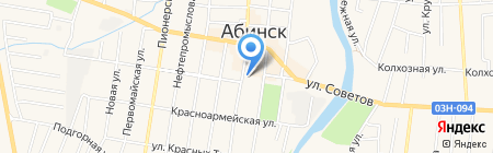 Подарки на карте Абинска