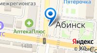 Компания Dom WiFi - Абинск - Быстрый беспроводной интернет в Абинске на карте