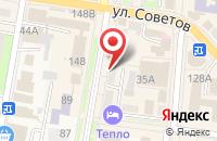 Схема проезда до компании Магазин домашнего текстиля в Абинске