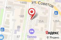 Схема проезда до компании Билайн в Абинске