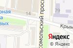Схема проезда до компании Православная лавка в Абинске