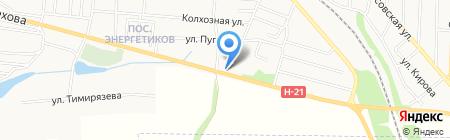 АЗС Артемида на карте Харцызска