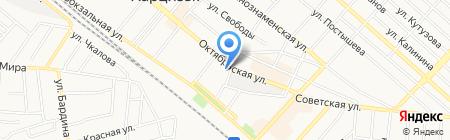 Строитель на карте Харцызска