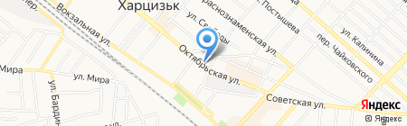 Колорит на карте Харцызска