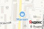 Схема проезда до компании Магнит в Абинске