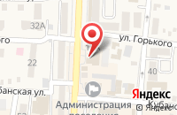 Схема проезда до компании МИД в Абинске