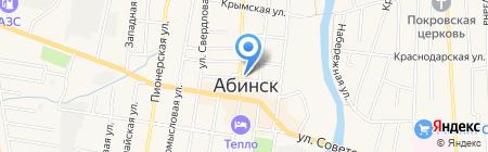 Управление земельных и имущественных отношений на карте Абинска